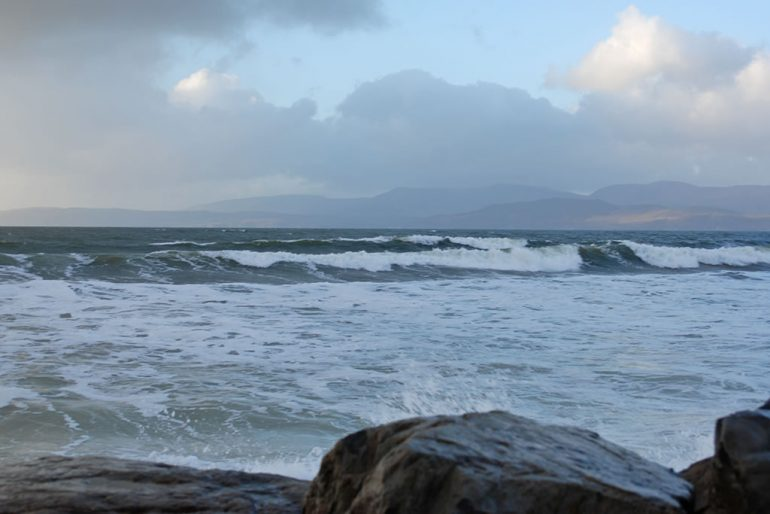 rossbeigh New Year's Day 2018