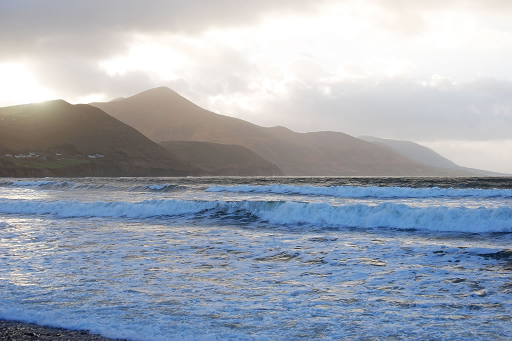 rossbeigh kerry New Year's Day 2018