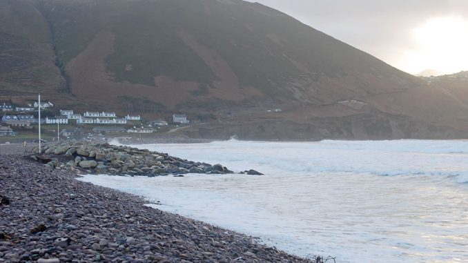 New Year's Day 2018 on Rossbeigh Beach