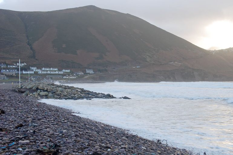 rossbeigh beach kerry New Year's Day 2018