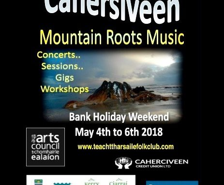Cahersiveen Mountain Roots Music Weekend 2018