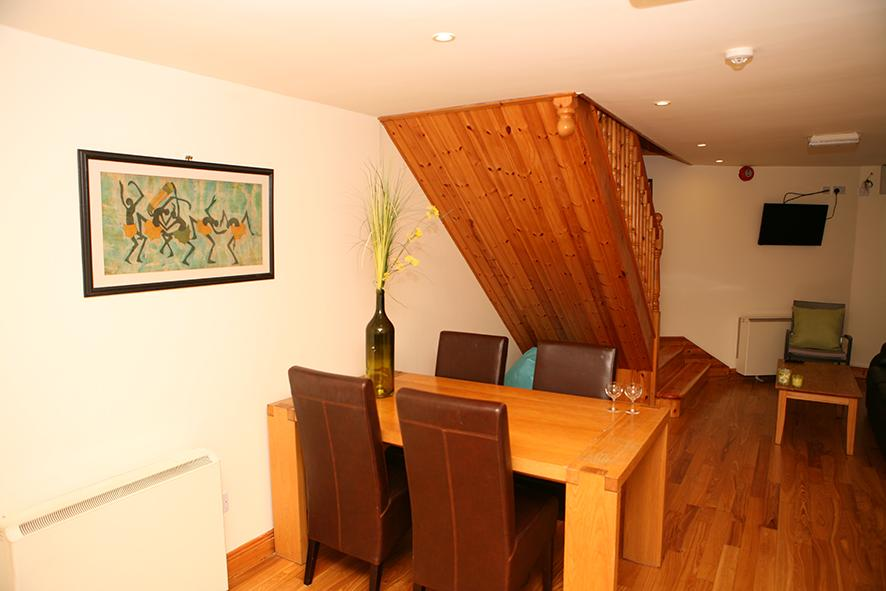 The Loft Self Catering Ardfert dining room