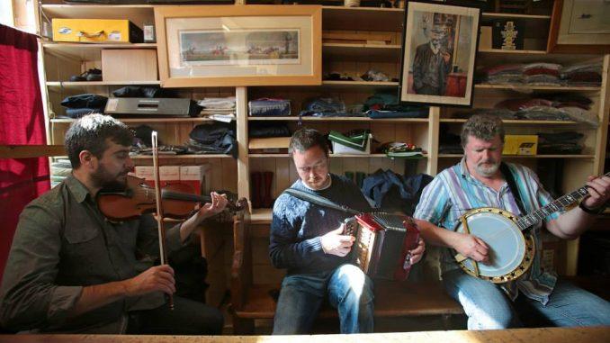 dingle tradfest 2018 musicians