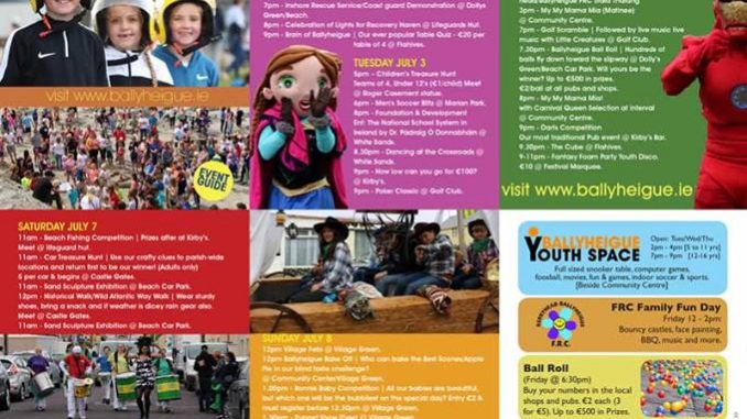 Ballyheigue Summer Festival 2018