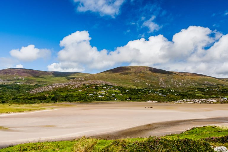 Derrynane one of the Blue Flag Beaches in Kerry 2019