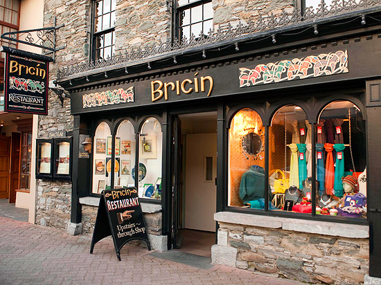 Bricín Restaurant in Killarney town centre