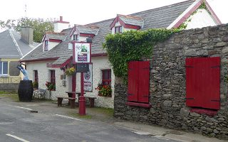 ned natterjacks in one of kerry towns with most pubs