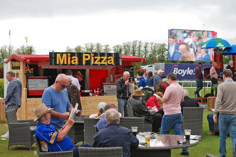 Eating out at Killarney Races