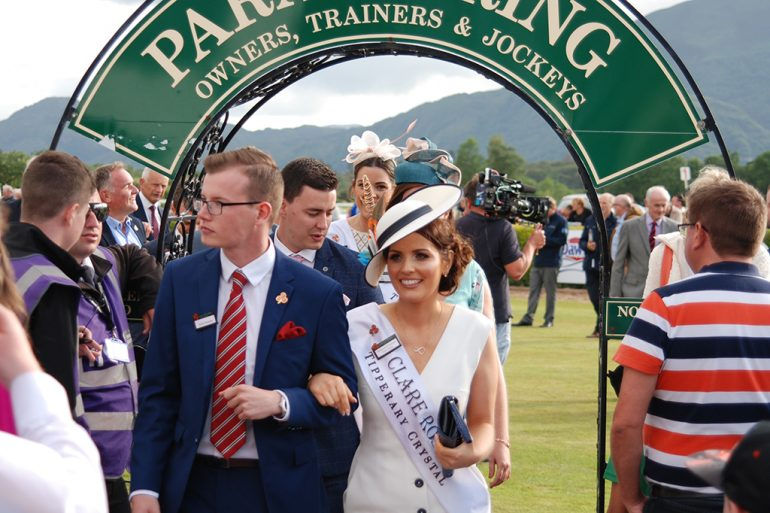 The Clare Rose at Killarney Races
