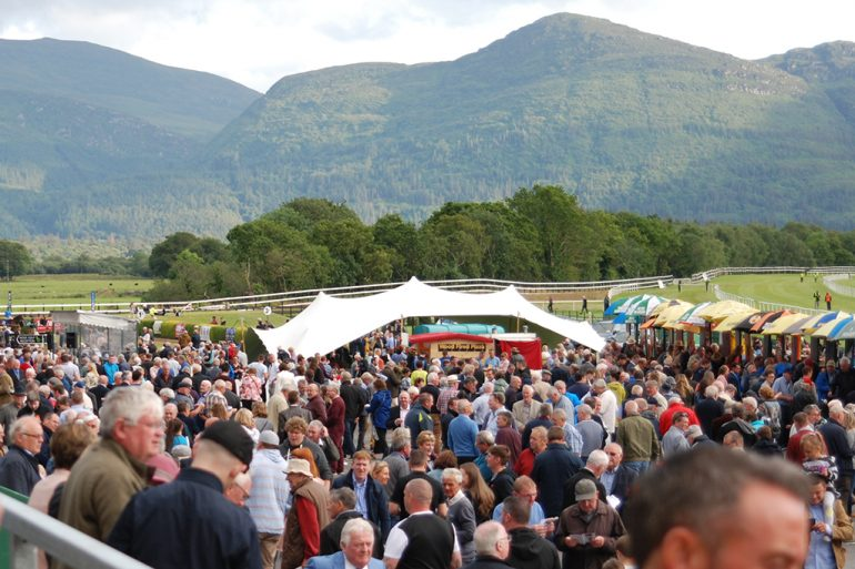 Crowds at Killarney Races