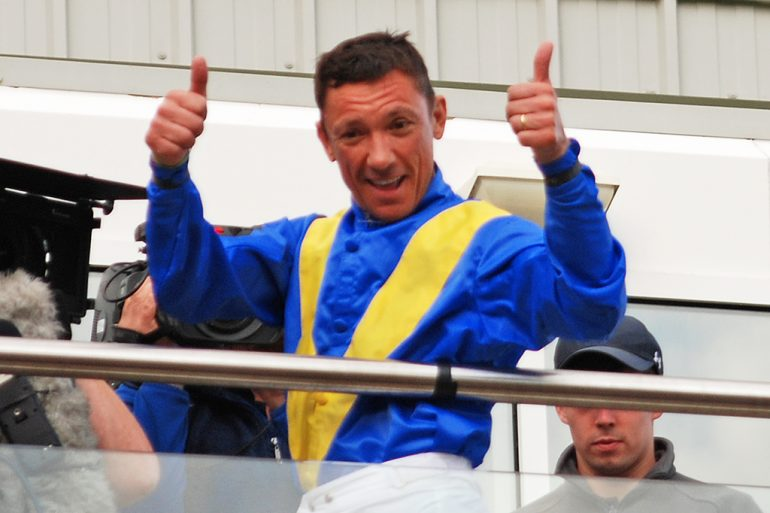 Thumbs up for Killarney from Frankie Dettori