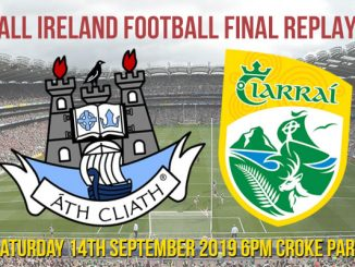 Date for All Ireland Football Final Replay