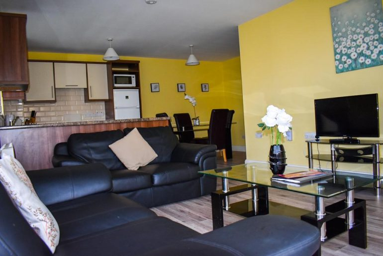 Wild Atlantic Way Apartments sitting room