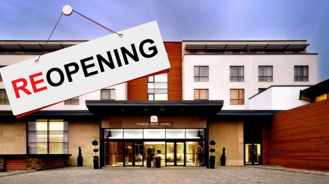 Cheapest hotels in Kerry reopening